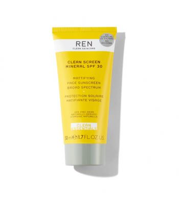 Clean Screen Mattifying Face Sunscreen SPF 30