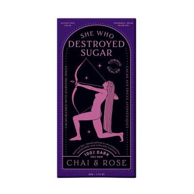 She Who Destroyed Sugar / Herbal Chai & Rose